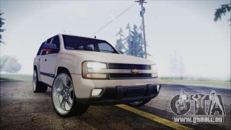 Chevrolet Triblazer pour GTA San Andreas