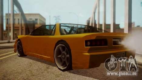 Better Super GT für GTA San Andreas linke Ansicht
