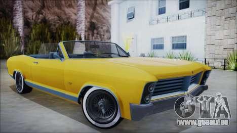 GTA 5 Albany Buccaneer Custom für GTA San Andreas