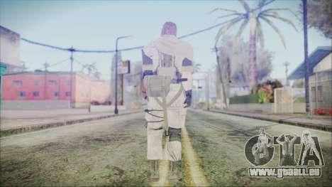 MGSV Phantom Pain Snake Scarf Desert pour GTA San Andreas troisième écran