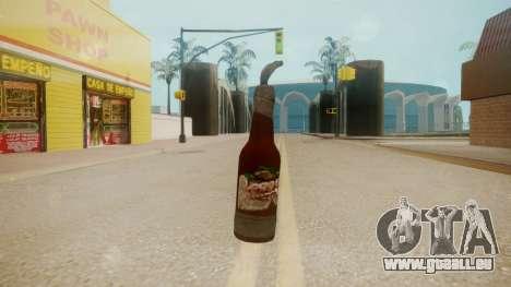GTA 5 Molotov Cocktail pour GTA San Andreas troisième écran