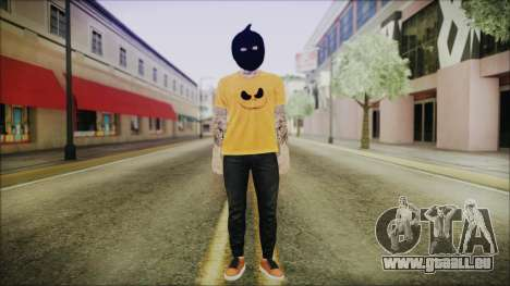 DLC Halloween GTA 5 Skin 3 für GTA San Andreas zweiten Screenshot