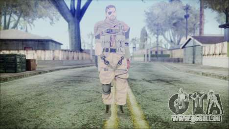 MGSV Phantom Pain Snake Scarf Golden Tiger für GTA San Andreas zweiten Screenshot