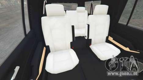 GTA 5 Chevrolet Suburban 2015 [unlocked] droite vue latérale