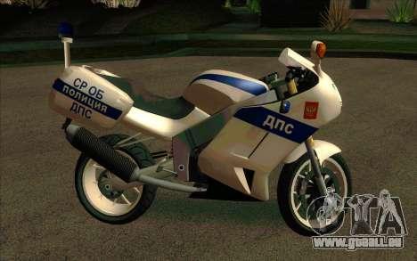 BMW R1200S de Motobot (DPS) pour GTA San Andreas