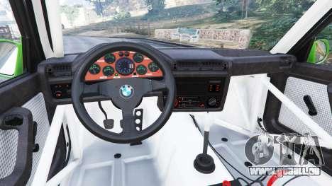 GTA 5 BMW M3 (E30) 1991 [Honoris] v1.2 droite vue latérale