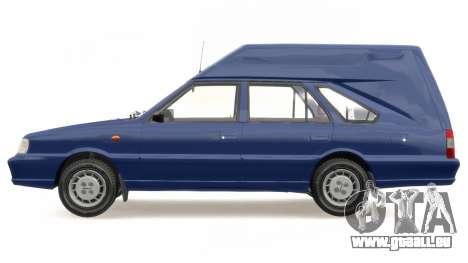 Daewoo-FSO Polonez Cargo Van Plus 1999 pour GTA 4 est un côté