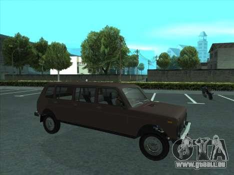 VAZ 2131 samudera ont pour GTA San Andreas vue de côté