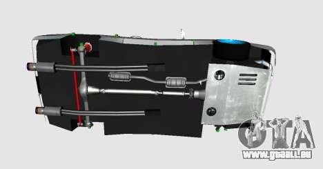 Elegy DRIFT KING GT-1 pour GTA San Andreas vue de droite