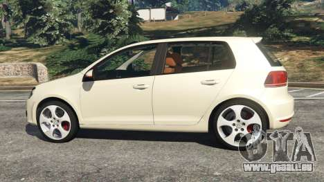 Volkswagen Golf Mk6 v2.0 [Stripes] für GTA 5