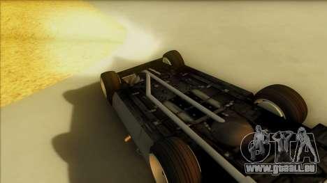 Sabre Race Edition für GTA San Andreas Seitenansicht