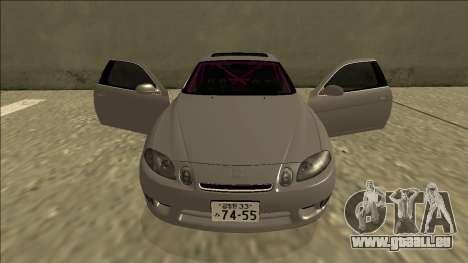 Lexus SC 300 Drift pour GTA San Andreas vue de dessus