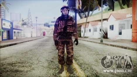 Chinese Army Desert Camo 2 pour GTA San Andreas deuxième écran