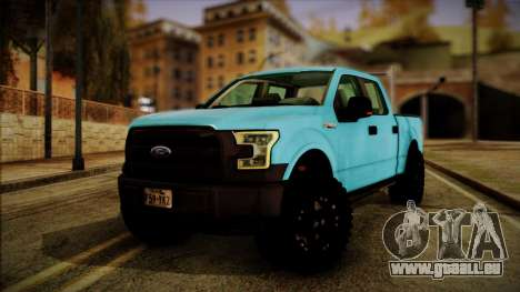 Ford F-150 4x4 2015 pour GTA San Andreas