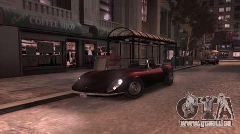 GTA V Stinger Classic pour GTA 4 est une vue de l'intérieur