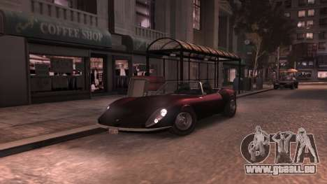 GTA V Stinger Classic für GTA 4 Innenansicht