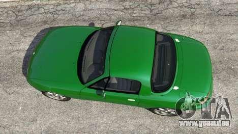 GTA 5 Mazda Miata MX-5 vue arrière