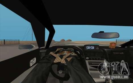 Elegy DRIFT KING GT-1 pour GTA San Andreas vue arrière