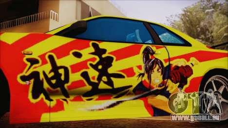 Nissan Skyline Street Racing Syndicate pour GTA San Andreas vue de droite