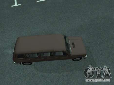 VAZ 2131 Samudera für GTA San Andreas zurück linke Ansicht