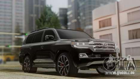 Toyota Land Cruiser 2016 pour GTA San Andreas