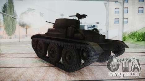 T7 Combat Car für GTA San Andreas linke Ansicht