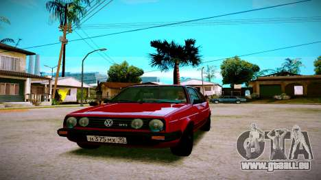 Volkswagen Golf Mk2 für GTA San Andreas