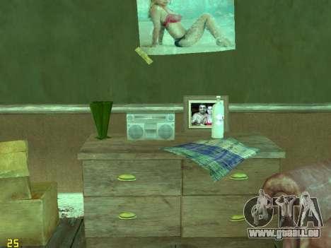 Appartement de GTA IV pour GTA San Andreas douzième écran