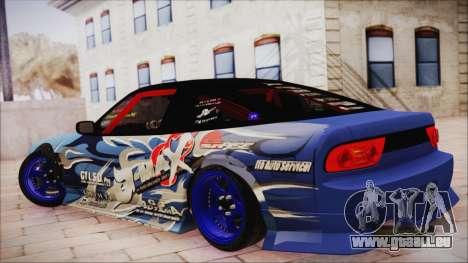 Nissan Silvia S15 DMAX pour GTA San Andreas laissé vue