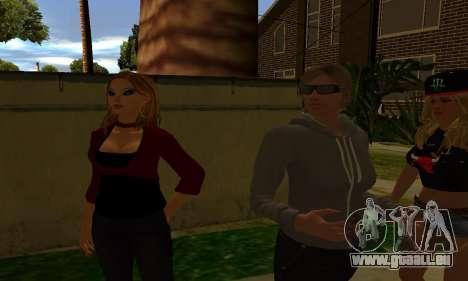 Womens Mega Pack by 7 Pack für GTA San Andreas sechsten Screenshot