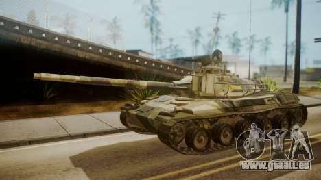AMX 30 from Mercenaries 2 World in Flames für GTA San Andreas