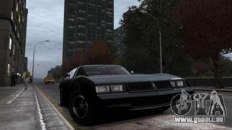 Classic Muscle Phoenix IV pour GTA 4 est une gauche