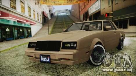 GTA 5 Willard Faction Custom Bobble Version für GTA San Andreas