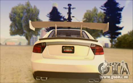 Obey Tailgater Special Tuning pour GTA San Andreas vue de droite