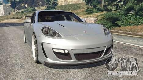 Porsche Panamera Turbo 2010 für GTA 5