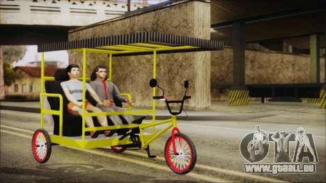 Bicitaxi Colombiano für GTA San Andreas