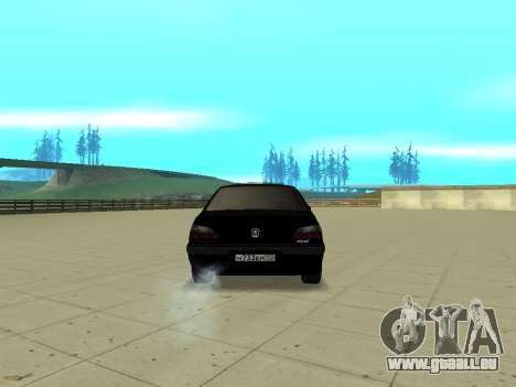 Peugeot 406 pour GTA San Andreas laissé vue