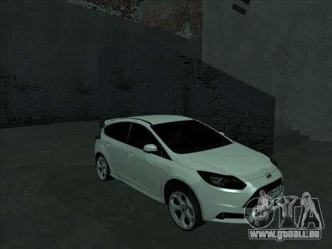 Ford Focus ST baleen für GTA San Andreas Rückansicht