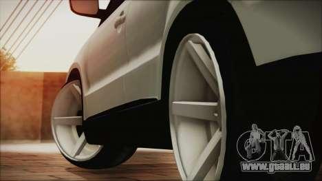 Volkswagen Tiguan Vossen Edition pour GTA San Andreas sur la vue arrière gauche