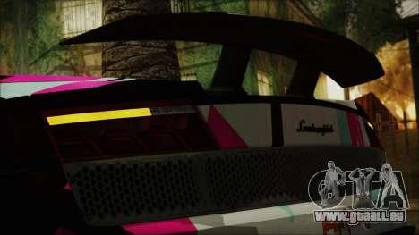 Lamborghini Gallardo LP570-4 2015 Miku Racing 4K für GTA San Andreas Innenansicht