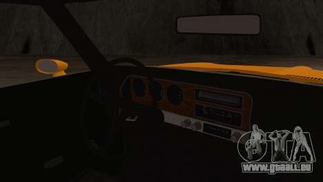 Pontiac Lemans Hardtop Coupe 1971 IVF АПП pour GTA San Andreas vue de droite