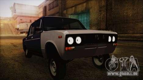 Bully VAZ 2106 Azeri Style pour GTA San Andreas