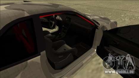 Nissan Skyline R34 Army Drift pour GTA San Andreas vue arrière