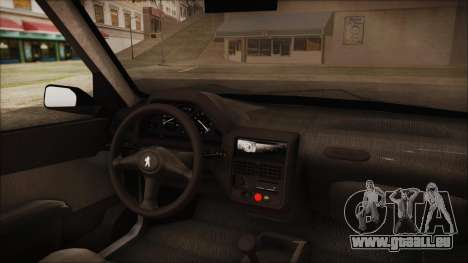Peugeot 106 für GTA San Andreas rechten Ansicht