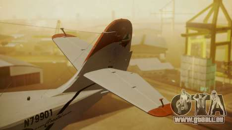 Grumman G-21 Goose N79901 pour GTA San Andreas sur la vue arrière gauche