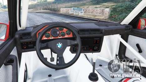 BMW M3 (E30) 1991 [Wild Autonio] v1.2 pour GTA 5