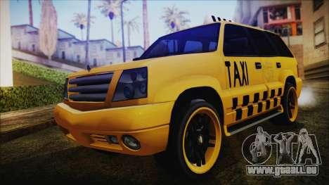 Albany Cavalcade Taxi (Hotwheel Cast Style) pour GTA San Andreas