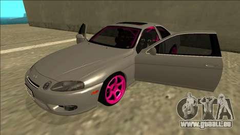 Lexus SC 300 Drift pour GTA San Andreas vue de côté