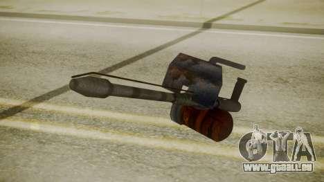 GTA 5 Flame Thrower pour GTA San Andreas troisième écran