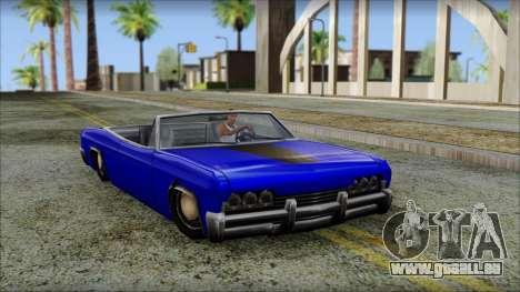 Blade Kounts Costume für GTA San Andreas